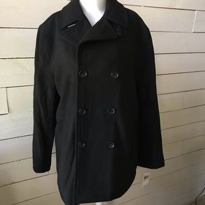 NWT Michael Kors  Wool Blend Double Breasted Coat